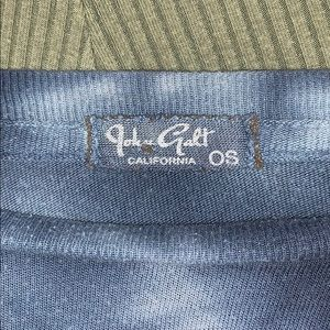 Brandy Melville Tops - Tie dye cropped t-shirt